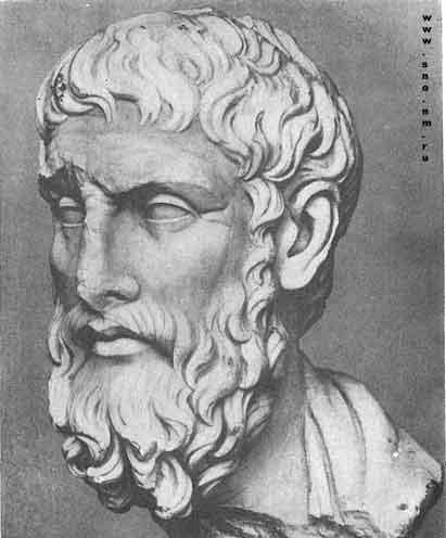 портрет Эпикура