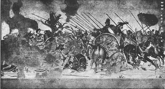 битва между Александром Македонским и Дарием при Иссе