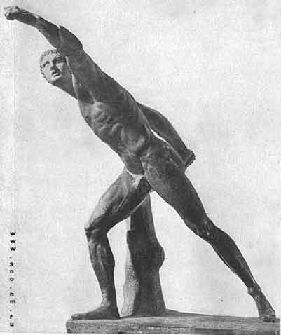статуя Боргезского бойца