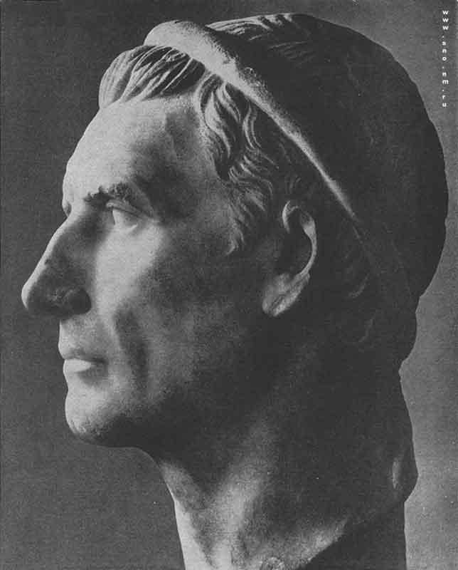 портретная голова царя Антиоха III Великого в Лувре