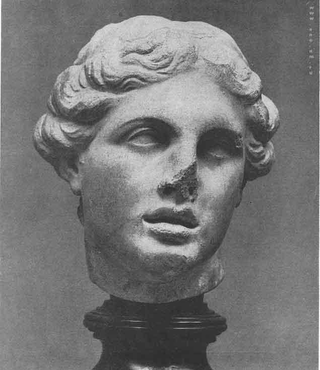 голова Афродиты в Берлинском музее