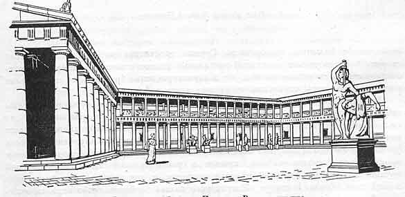 Площадь у святилища Афины