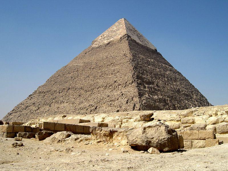 Пирамида Хефрена (Хафра)